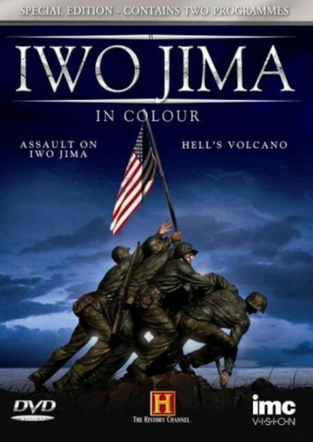 Iwo Jima in Colour (New DVD) US Marines WW2 World War Two Hell's Volcano