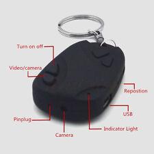 Mini Car Key Chain DV Spy Camera Hidden DVR Cam Video Recorder Camcorder HD
