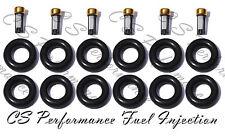 Chrysler 2.4 I4 Fuel Injector Service Rebuild Kit Orings Filter Grommets CSKDO14