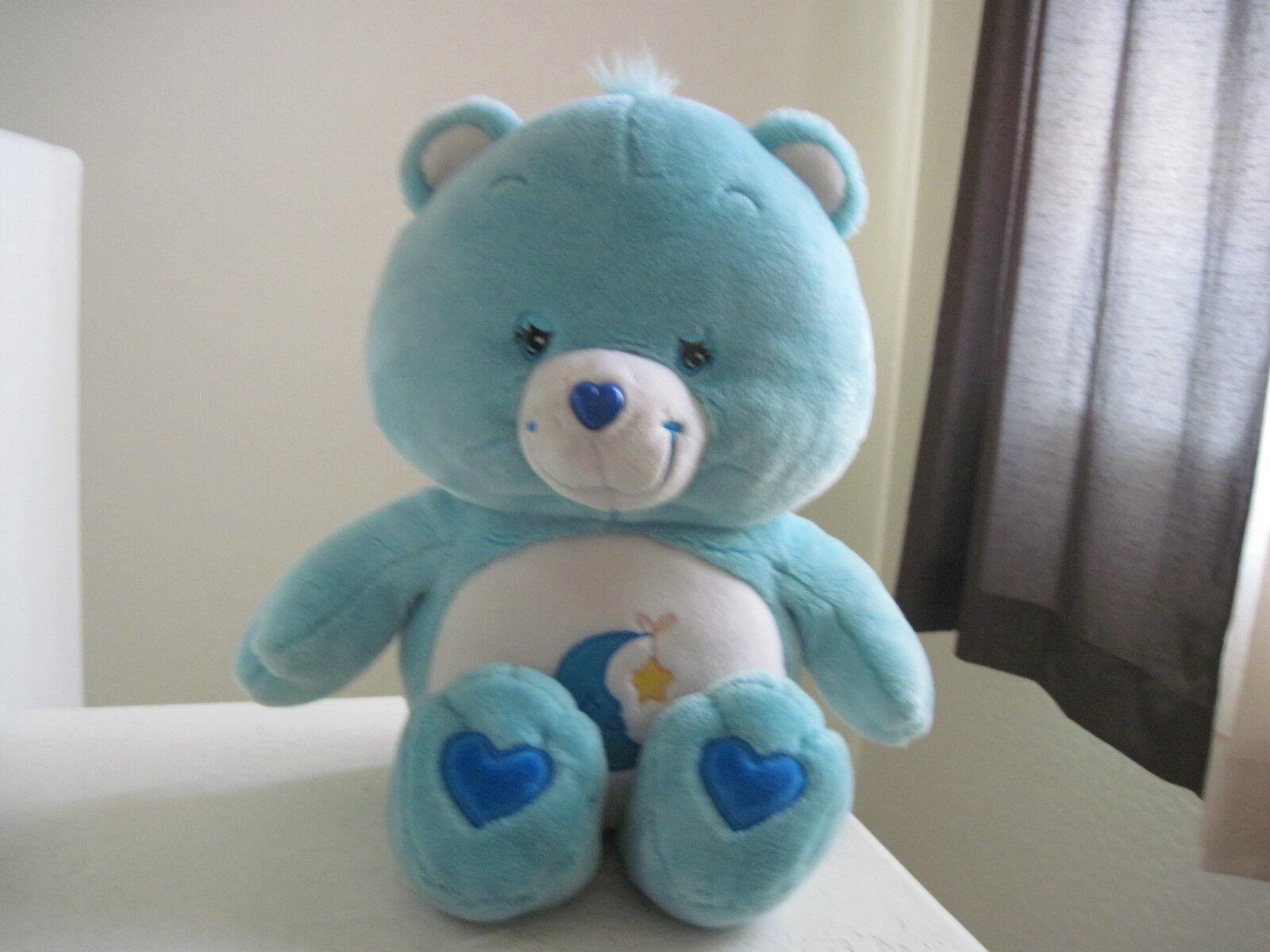 GIANT Big Jumbo Care Bears BEDTIME BEAR 26  Plush Stuffed Animal