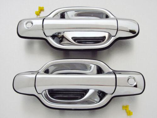 04-14 Isuzu D-MAX Holden RC Colorado Chevrolet LUV Pair Chrome outer door handle