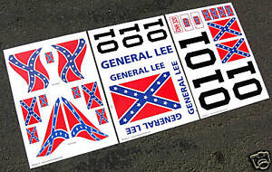 HPI-BAJA-5T-1-5th-RC-General-Lee-Stickers-Decals