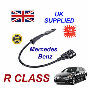 Mercedes-R-Class-2009-Integrado-Bluetooth-Musica-Modulo-para-iPhone-HTC-Nokia