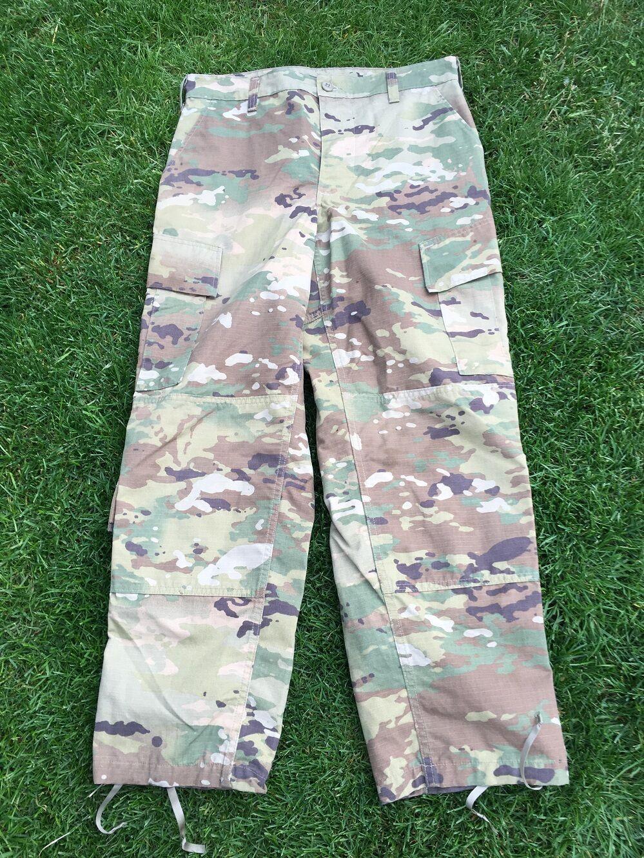 US Army OCP ACU SCORPION w2 Combat Mimetico Tarn Pants Pants Tarn Pantaloni SMALL SHORT e5713f