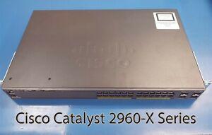 Cisco-Catalyst-2960-X-Series-24-Port-Gigabit-Managed-Switch-WS-2960X-24TS-L