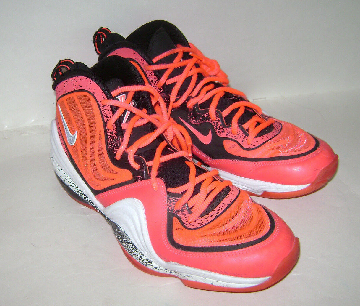 reputable site d3f80 6df4f ... Nike Air Penny V Five 5 628570-601 Size Atomic Red Mens Basketball Shoes  Size ...
