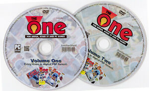 THE-ONE-MAGAZINE-Full-Collection-on-2-DISKS-AMIGA-ATARI-ST-AND-PC-GAMES