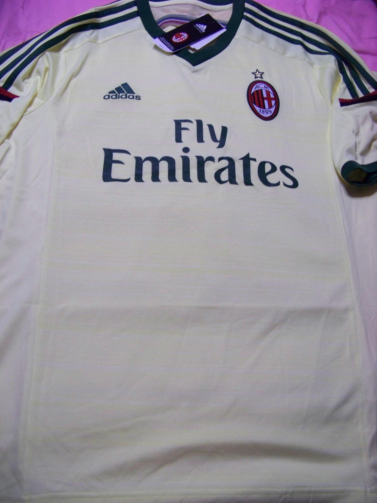 Adidas Men's AC Milan Soccer Jersey NWT XL