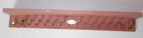 New in Box Jos A Bank Woodlore Cedar Accessory Mate w// shelf   Free Shipping