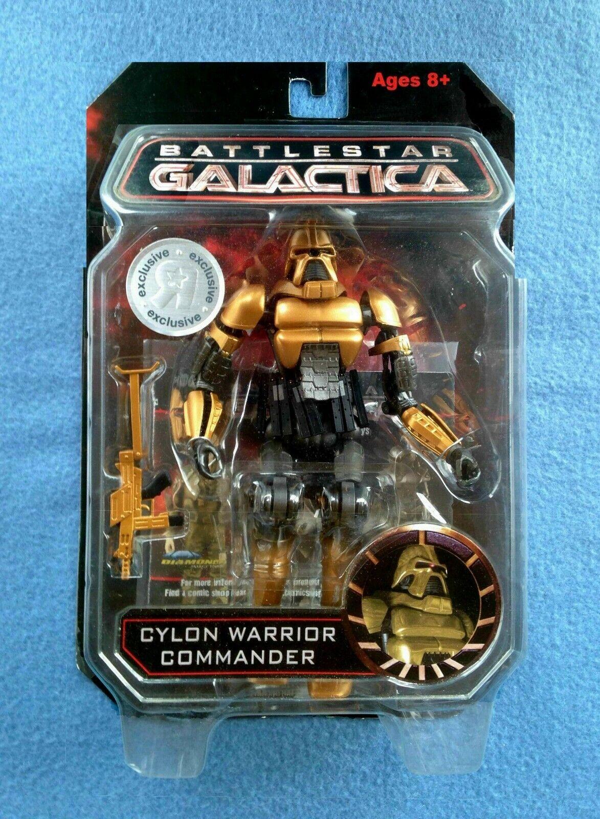 Comandante Figura De BattleEstrella Galactica Cylons Guerrero Diamond Select Juguetesrus Exc