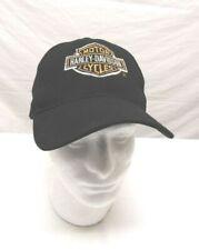 ec4cc4d316e86 Harley Davidson Antique Suede Distressed Leather Cap / One Size Fits ...