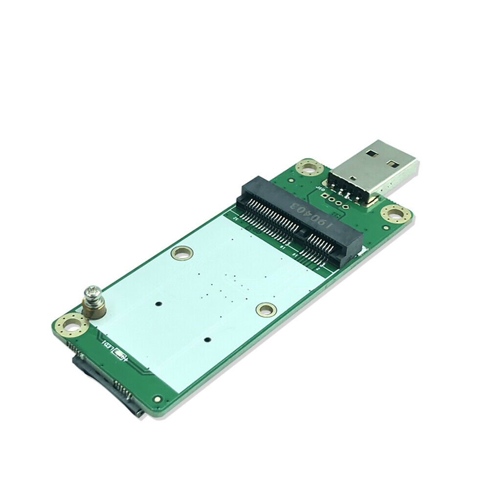 4G Industrial Mini PCIe to USB Adapter WSIM Card Slot for WWAN/3G/4G/WiFi Module