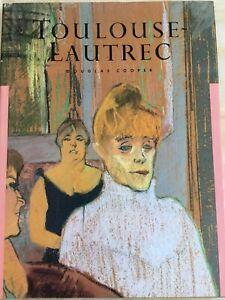 TOULOUSE-LAUTREC-Douglas-Cooper-Art-book-classic-painter