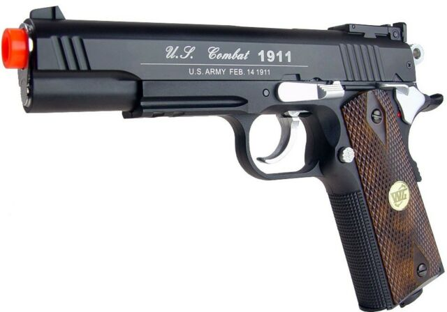 WG 1911 Xtreme 45 Non-BlowBack CO2 Airsoft Gun - Enhanced Pistol