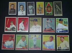 Pre-War-Hall-of-Fame-Lot-Babe-Ruth-Ty-Cobb-Shoeless-Joe-Rookie-Card-Lot