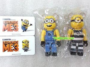 Medicom 100% Be@rbrick Series 34 Minion Set (Set of 2) Bearbrick ME3 [In Stock]