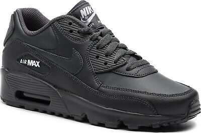 Nike 833412 027: Boy's Air Max 90 Anthracite White (GS) Sneaker | eBay