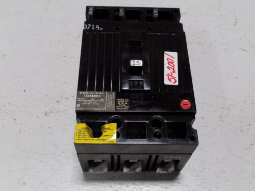 GENERAL ELECTRIC 15A 240VAC 3P CIRCUIT BREAKER TEB132015