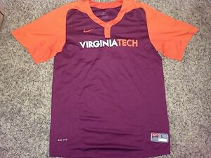 2013 Nike Virginia Tech Hokies Baseball #2 Mark Zagunis Worn Batting Jersey *L*