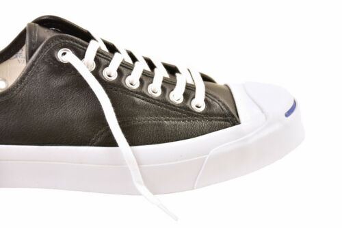 Low Black Jack Shoes Unisex £ 137 Purcell Converse Bcf811 Leather Uk Tamaño 8 Rrp XTqwY5
