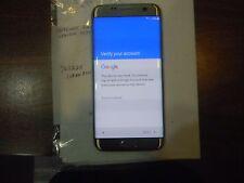 Samsung Galaxy S7 edge SM-G935 - 32GB - Gold (Verizon) Google Locked Clean ESN