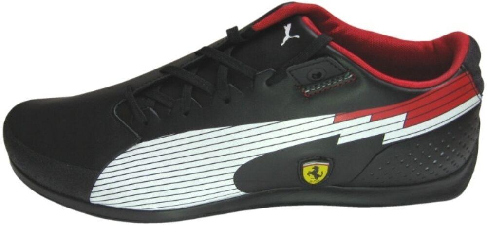 Puma evoSPEED Niedrig Ferrari Turnschuhe schwarztöne schwarztöne Turnschuhe Drift 304173 02 Echtleder Gummi 83a2bf