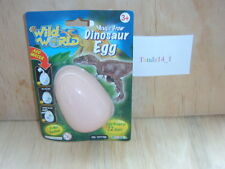 2. Wild World Magic Growing Dinosaur Egg. NEW ON CARD.
