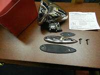 Vintage Chrome Bullet Mirror Triumph TR2 TR3 TR4 TR250 TR6 TR7 TR8 Spitfire GT6