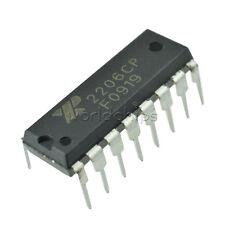 10pcs Exar Xr2206 Monolithic Function Generator Ic 16 Pin Dip Xr2206cp