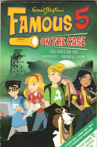 1 of 1 - FAMOUS 5 ON THE CASE Case Files #3 & #4  Enid Blyton ~ 2-in-1 SC 2008