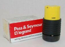 PASS /& SEYMOUR LEGRAND 30A 125V FEMALE TWIST LOCK L530C CONNECTOR PLUG