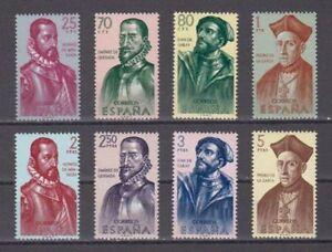ESPANA-1962-MNH-NUEVO-SIN-FIJASELLOS-SPAIN-EDIFIL-1454-61-FORJADORES
