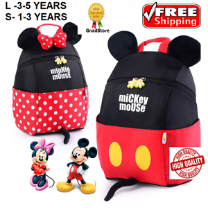 cf8027309c9f Image is loading Toddler-Kid-Mini-Backpack-Girl-Boy-Disney-Mickey-