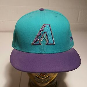 7ac3d42e3e8 Image is loading Arizona-Diamondbacks-NewEra-Hat-59fifty-Teal-Purple-Copper-