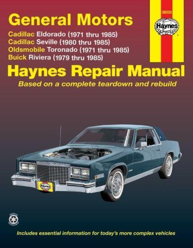 Repair Manual-Base Haynes 38030