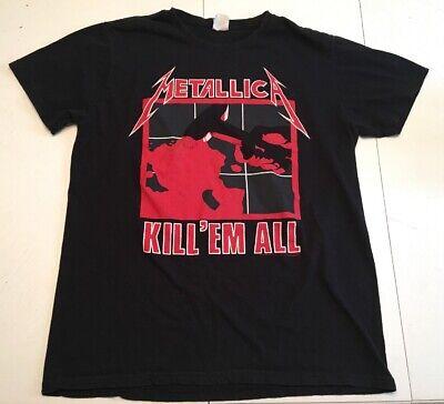 Kill Em All 83 Tour Men/'s Black Sleeveless T-Shirt Amplified METALLICA