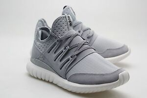 8f56cfccc4b4 Adidas Men Tubular Radial gray light grey core black vintage white ...