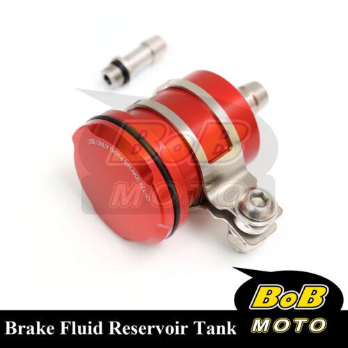 For Honda CBR600RR 2005-2006 Red Racing CNC Rear Brake Fluid Reservoir Tank