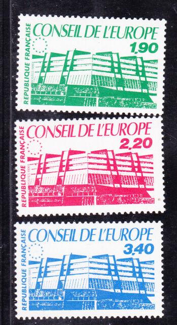 ¤¤ Yvert service  93/95 - Conseil de l'Europe 1986 - Neuf**  ¤¤