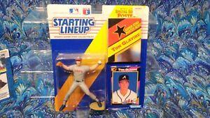 1992 ROOKIE STARTING LINEUP - SLU - MLB - TOM GLAVINE   -ATLANTA NEW