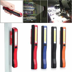 Lampada-da-lavoro-Torcia-Elettrica-COB-LED-Luce-Officina-Garage-USB-Ricaricabile