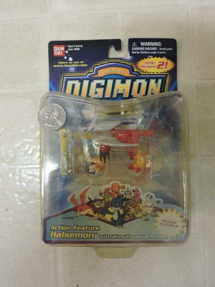 ONE Pokemon Digimon Halsemon toy action figure toys NEW red eagle bird