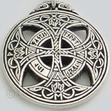CELTIC Knot Work RUNIC TRUE LOVE Amulet Rune Necklace Pendant Passion Trust