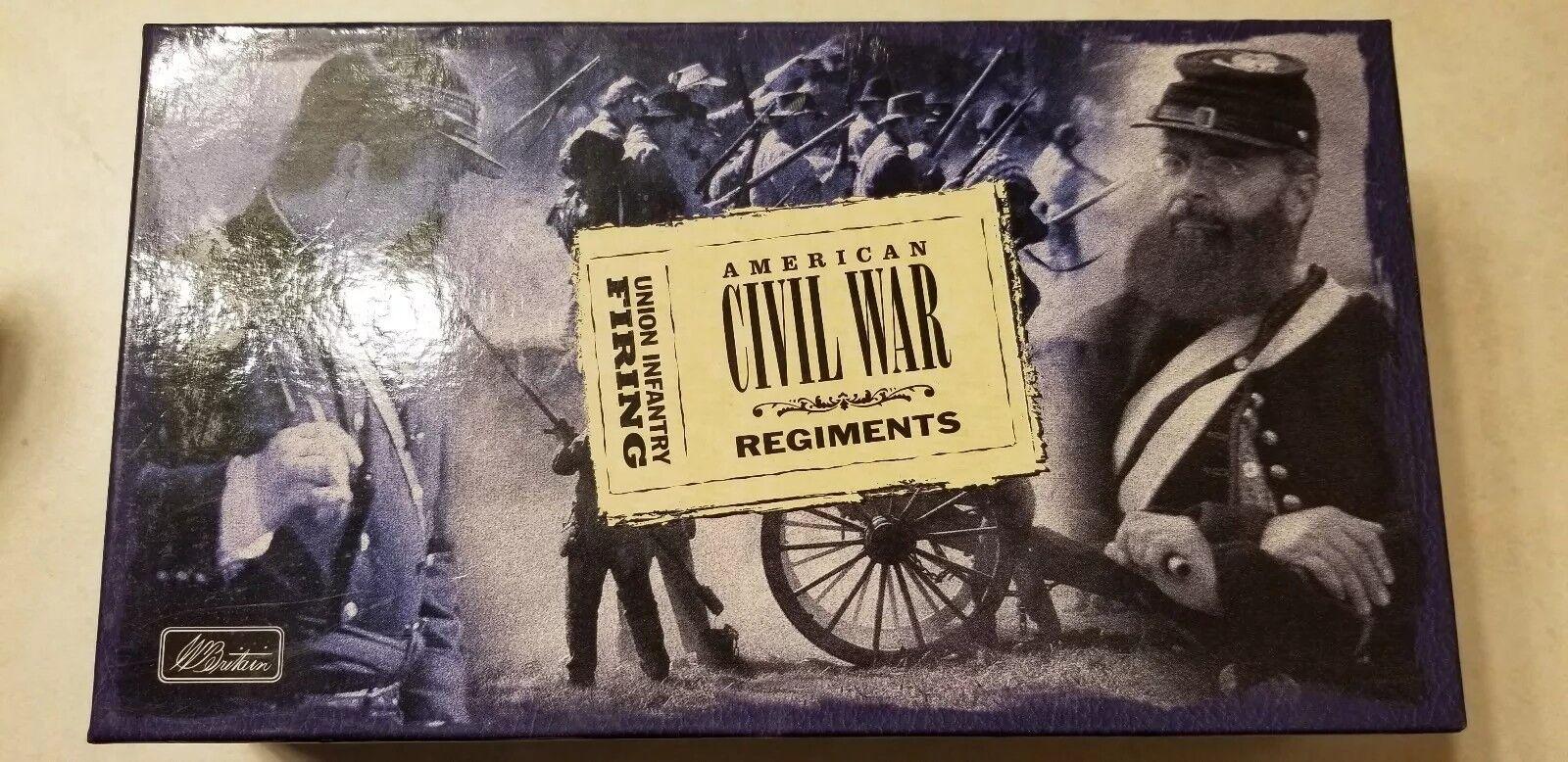 Nuovo Britannico Guerra Civile Fanteria Nordista Spara Regalo