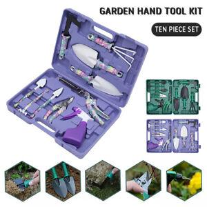 10-pcs-Ensemble-outils-jardinage-Kit-en-acier-inoxydable-OutilsCadeaux-G