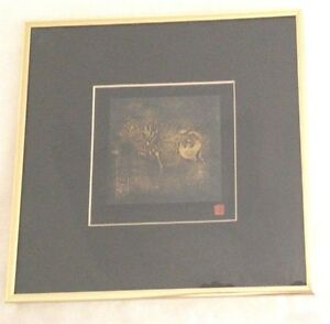 Goldtone-Metal-10X10-034-Prancing-Horse-Picture