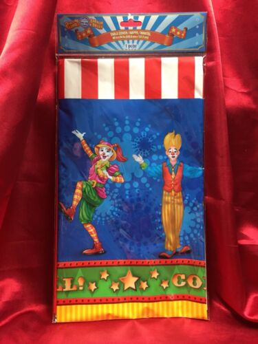 Ringling Bros and Barnum /& Bailey Circus Birthday Party Supplies Plates Cups NEW