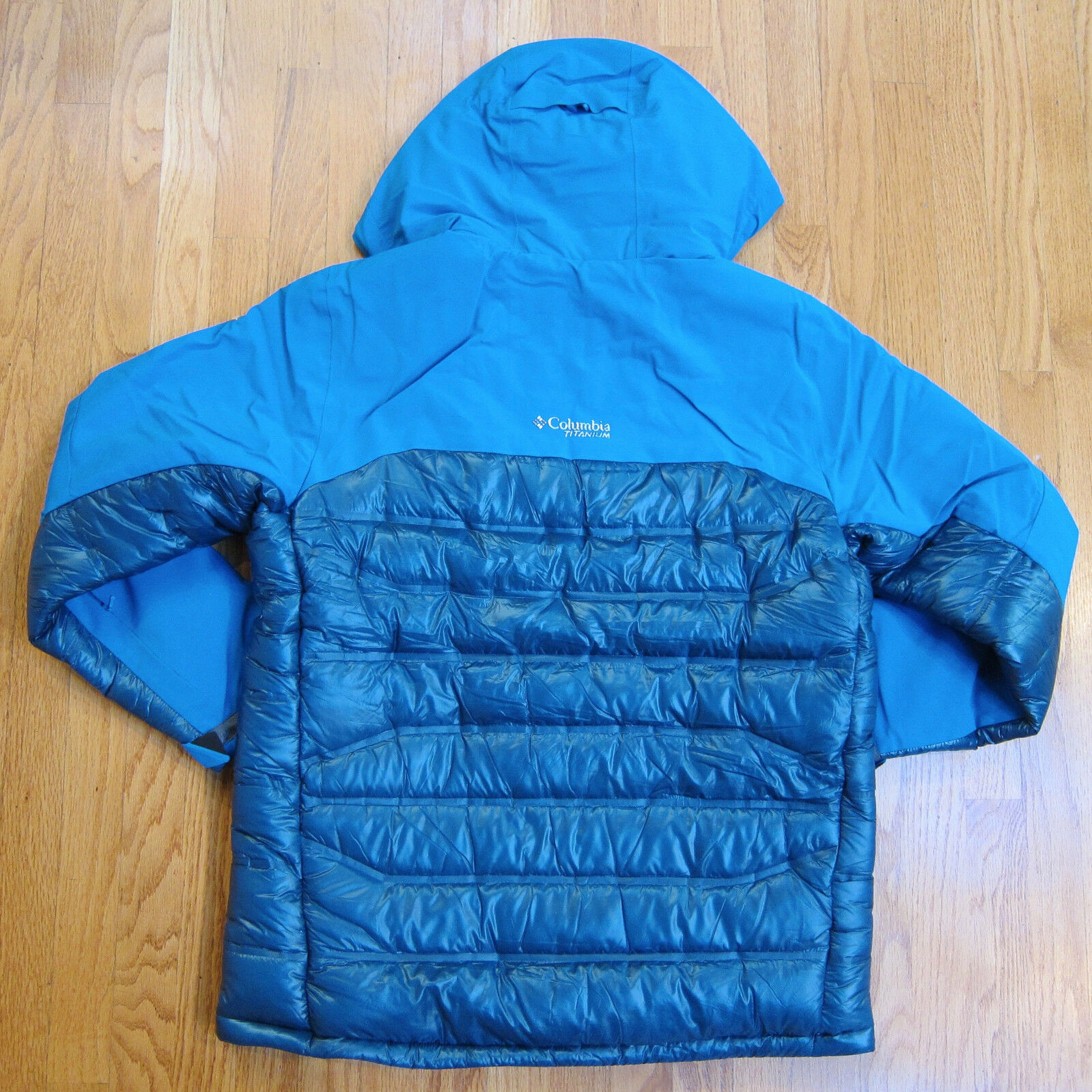 Columbia Titanium Heatzone 1000 Turbodown Hooded Jacket Omniheat 1619811 L  for sale online  dde32673cc