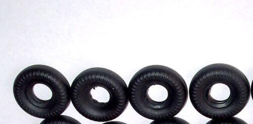 SCHUCO #1037 PORSCHE  MICRO RACER 4  20MM TIRES BLACK  TIRES