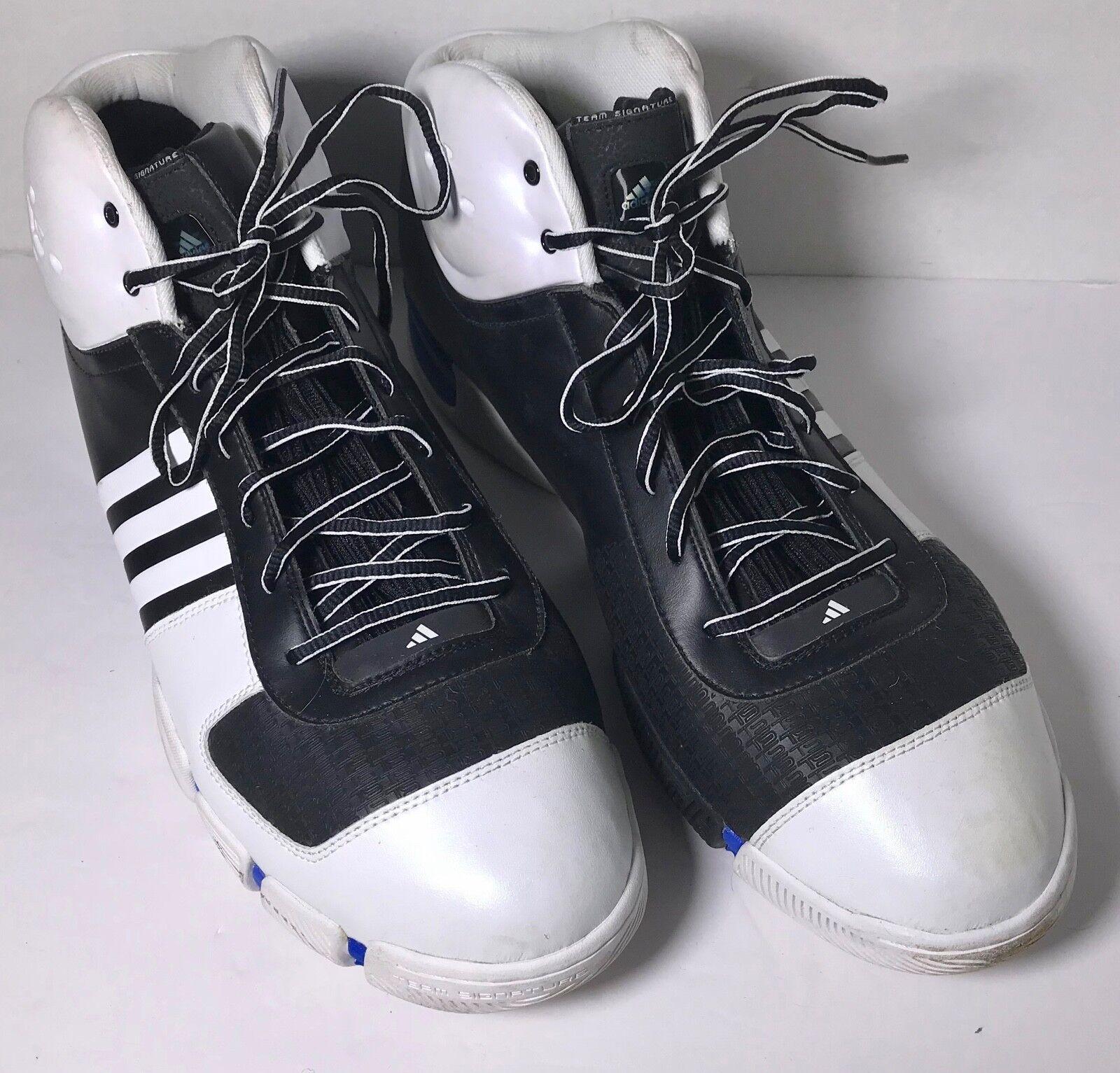 Adidas Men's Black/White TS BELIEVE Shoes 20